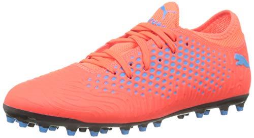 Puma Herren Future 19.4 MG Fußballschuhe Rot (Red Blast-Bleu Azur) 48.5 EU