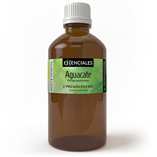 Aguacate 1ª presión frío - Aceite vegetal - 100% Puro - 100 ml