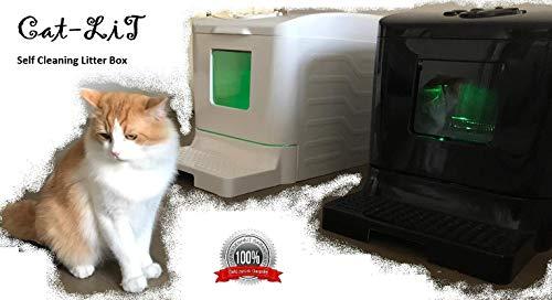 *Cat-LİT Vollautomatisches Selbstreinigende Katzentoilette*