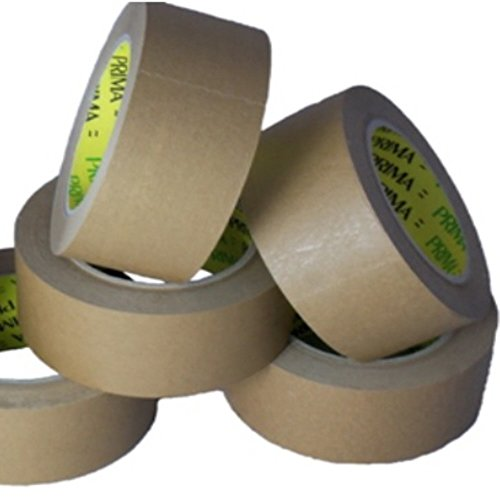 36-large-rolls-of-50mm-kraft-paper-tape-2-inch-wide-x-66-metres-per-roll-60gsm-with-rubber-adhesive-