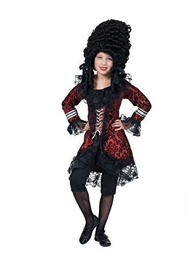 Kostüm Madeleine Kind Mädchen Größe 116 Rokoko Barock Gräfin Kinderkostüm Madame Adel Gräfin Karneval Fasching (Madeleine Kostüme)