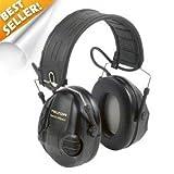 Peltor Sporttac Tactical Sport Headset w/ Standard Black Cups MT16H210F-479-SV by Peltor