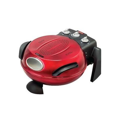413fi%2BTfuEL. SS500  - SMART Rotating Stone & Grill Pizza Maker (Red)