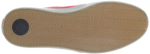 Dekline 602623, Chaussures de skateboard mixte adulte Rouge (Red-Grey)