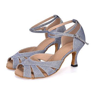 Scarpe da ballo-Personalizzabile-Da donna-Danza del ventre / Balli latino-americani / Jazz / Moderno / Samba / Scarpe da swing-Tacco a Purple