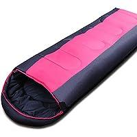 SDSLPB Saco de Dormir - Bolsas de Dormir Adultos Que acampan Calientes del algodón Que acampan