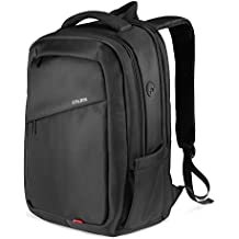 SPARIN Laptop Zaino, Laptop Zaino Scuola Business per Computer Portatile da 17,3 pollici con [USB Port] [Multi-funzionale] [Impermeabile] [Alta Capacita] -NERO
