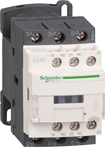 Schneider LC1D09Q7 Leistungsschütz, 3P+1S+1Ö, 4kW/400V/AC3, 9A, Spule 380V 50/60Hz