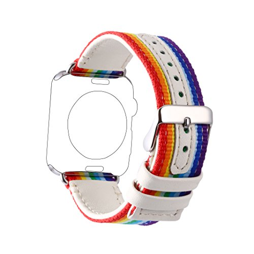for-apple-iwatch-38mm-rainbow-band-rosa-schleifer-apple-watch-band-leather-nylon-wrist-strap-classic