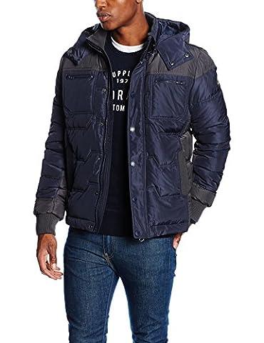 Kaporal Joss, Blouson Homme^Homme, Bleu (Navy), XX-Large (Taille Fabricant: XXL)