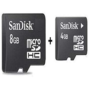 Combo of Sandisk 4GB & 8GB Micro SD Card
