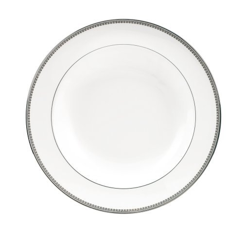Vera Wang by Wedgwood Vera Lace 9-Inch Rim Soup Plate by Wedgwood Lace-rim Soup Plate