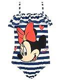 Disney Costume da Bagno per Ragazze Topolina Blu 18-24 Mesi