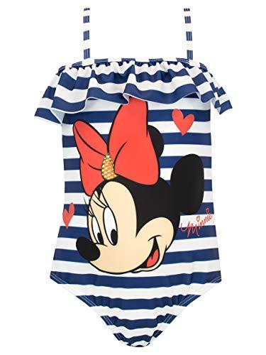 Disney Mädchen Minnie Mouse Badeanzug Blau 104 Disney Mädchen Minnie Mouse