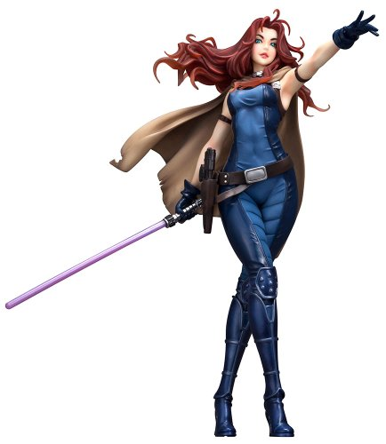 Star Wars - Mara Jade ArtFX 1/7 Scale Pre-Painted Model Kit (Pre-painted Kit)