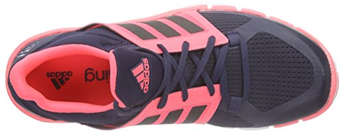 adidas ADIPURE 360.3 Fitnessschuhe Damen midnight grey f15-night met. F13-flash red s15