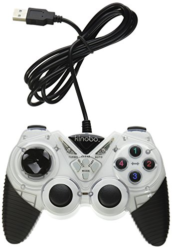 Kinobo USB Gamepad / Joypad Controller für PCs XP/Vista/Windows 7 - Dual Schock Funktion. - Mac Assassins Creed 1