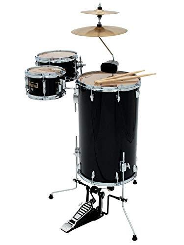 Cocktail Schlagzeug TROPICEUR, schwarz - Steh-Drumset aus Holz / Stehschlagzeug schwarz - klangbeisser -