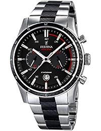 Festina Herren-Armbanduhr XL Chronograph Quarz Edelstahl beschichtet F16819/3