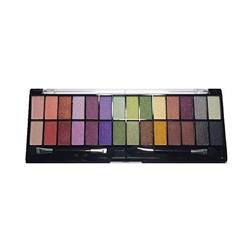 Maquillage Yeux - Palette 32 Ombres à Paupières dégradé de couleurs