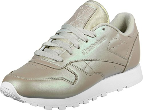 Reebok Donna Scarpe / Sneaker Classic Leather Pearlized oro 41
