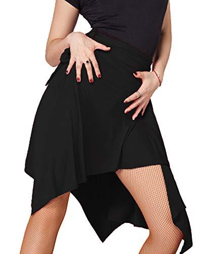 Salsa Tanz Performance Kostüm - Grouptap Latin Dance Motony schwarz Damen