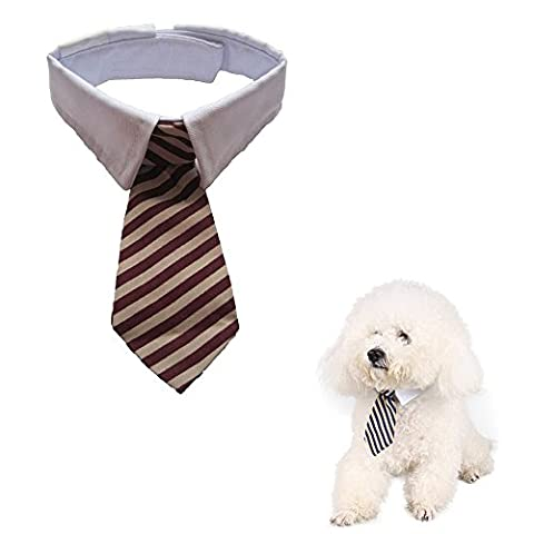 Namsan Twill Cotton Tie Small Dogs Cats Puppy Tie Neck Tie Collar