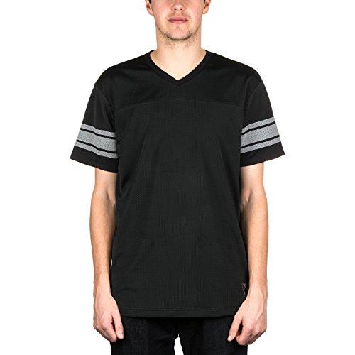 Vans AV Resurface V-Neck Shortsleeve Jersey Tee Black