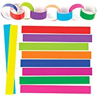 Baker Ross EX634 Paper Chains, Assorted