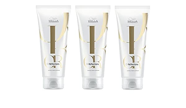 Wella Oil Reflections Luminous Instant Conditioner 3 X 200 Ml 30