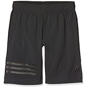adidas Jungen Training Woven 3-Streifen Shorts