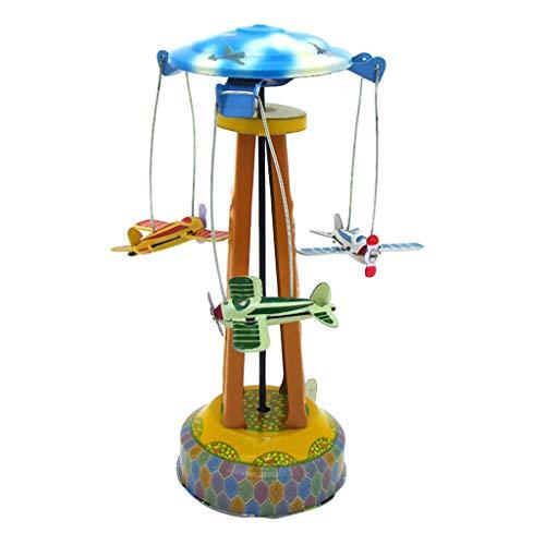 Mitlfuny Kawaii Langsam Dekompression Creme Duftenden Groß Squishy Spielzeug Squeeze Spielzeug,Weißblech Uhrwerk Kettenspielzeug Single Wing Rotary Aircraft