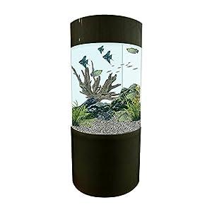 All Pond Solutions Column Cylinder Aquarium Fish Tank (JY-700-260L)