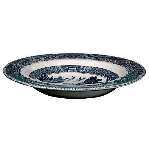 Johnson Bros. Blue Willow Rim Soup Bowl by Johnson Brothers Blue Rim Soup Bowl
