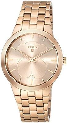 Reloj Tous B-Face de acero IP rosado Ref:500350310