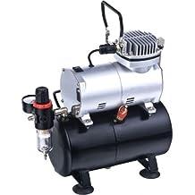 Mini compressore portatile serbatoio 3litri TC-20T aerografo verniciatura auto MWS