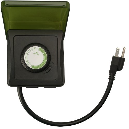 Woods 50012 Outdoor 24-Hour Heavy Duty Mechanical Timer w/ 2-Outlet by Woods -