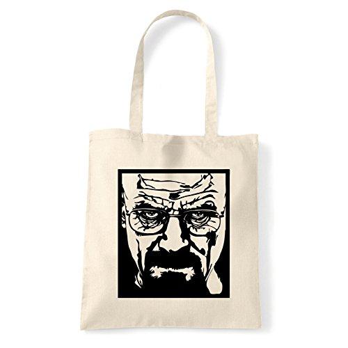 Art T-shirt, Borsa Shoulder Heisenberg, Shopper, Mare Natural