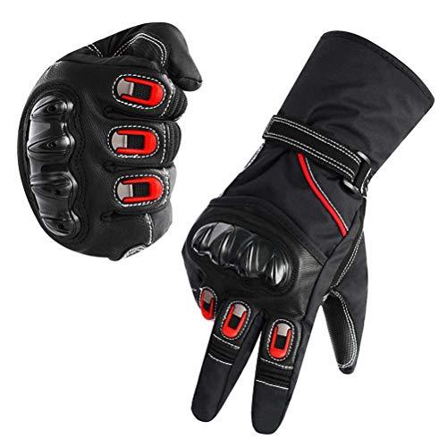 Surenhap Motorrad Handschuhe 3M Thinsulate Motorradhandschuhe Touchscreen Atmungsaktiv Winterhandschuhe