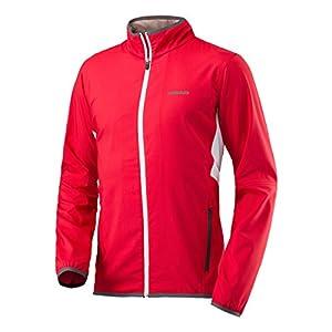 HEAD Jungen Club Woven Jacket Boys Trainingsanzüge, rot, 128