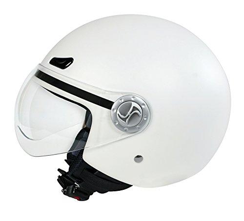 koji - Helio, casco jet - Bianco opaco - XS