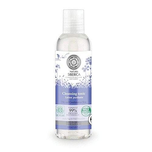 200 Ml Natur - (Natura Siberica Cleansing Tonic for Oily and Combination Skin 200ml)