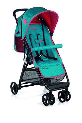 BE COOL Zas - Silla de paseo plegable, Color Wave