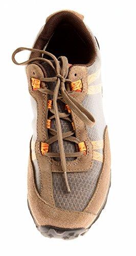 Timberland Womens Outdoor Scarpe da Ginnastica con Lacci 12683 12684 Scarpe di Cuoio Marrone