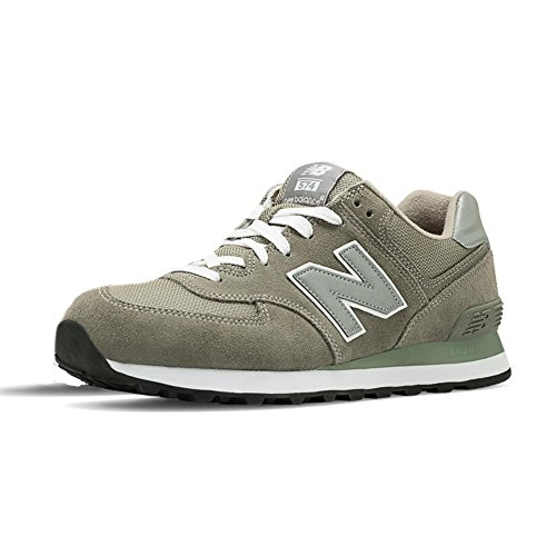 New Balance M574 D, Baskets mode homme GS GREY 12