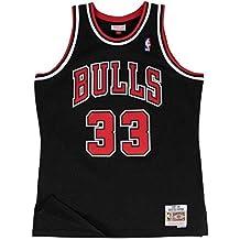 Mitchell   Ness Chicago Bulls Scottie Rapide   33 1997–98 en Bois Dur  Classique 5706a2843aef