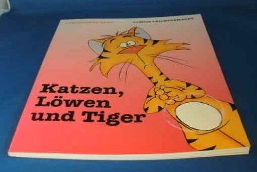 Cartoons leichtgemacht. Katzen, Löwen und Tiger (Zeichenreihe)
