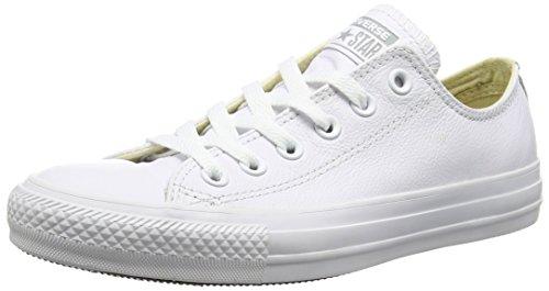 Converse - Sneakers a collo basso da uomo, bianco(weiß), 40