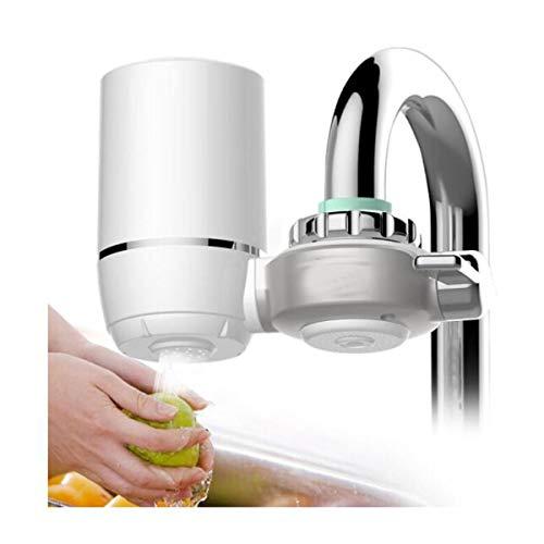 Wasserhahn-Filter, Küchen-Leitungswasser-Reinigungsapparat (eine Maschine vier Kern) (Color : White) - Kern-filter