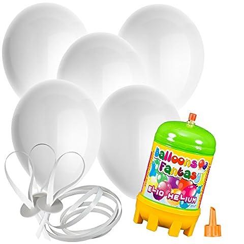 Heliumsets mit LED-Rundballons - 8-30 Ballons mit 30 cm Durchmesser